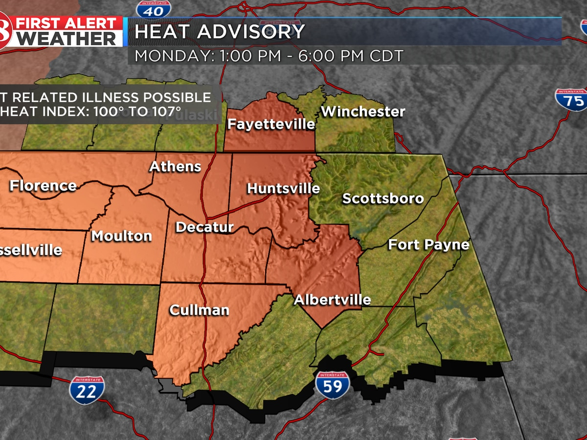 First Alert Weather Day due to extreme heat