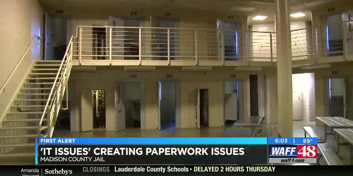 Madison County Sheriff's Office 'IT issues' creating inmate roster challenges