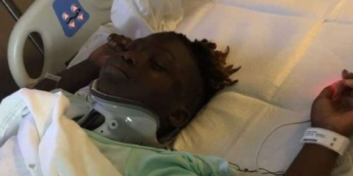 Mom says 8-year-old son hit by truck has long road to recovery