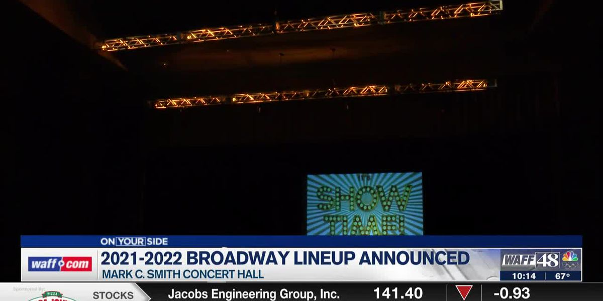 Mark C. Smith Concert Hall upgrades, Broadway Theater League announces 2021-2022 show lineup