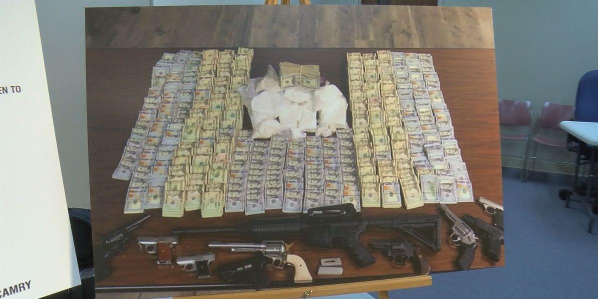 Valley law enforcement, FBI announce drug bust valued at just under $700K