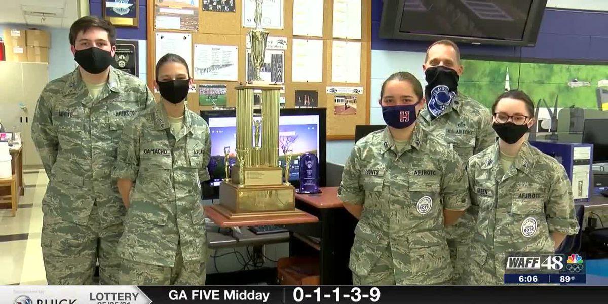 Huntsville High School JROTC cadets will soon be Space Force JROTC Guardians