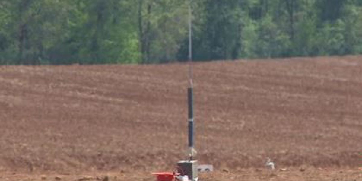College students compete for $5K prize in NASA rocket launch