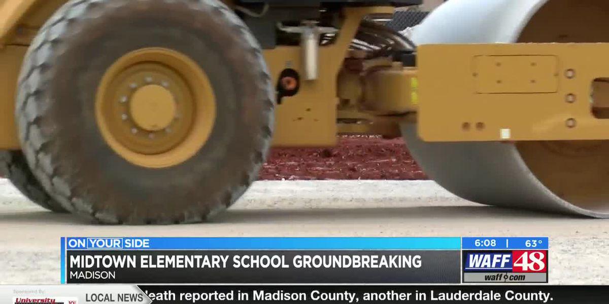 Midtown Elementary School celebrates official groundbreaking on Wednesday