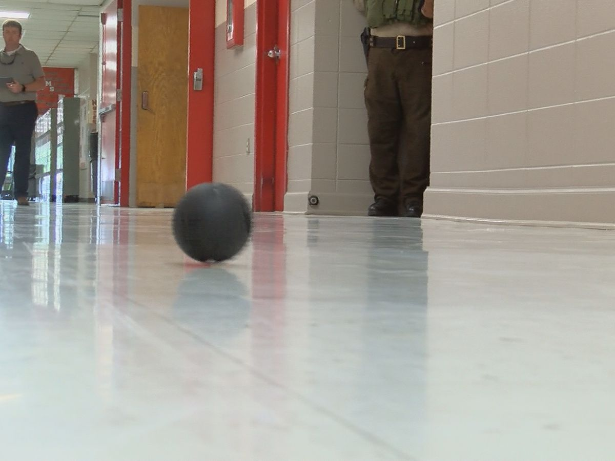 Marshall County Sheriff Office first in the state to receive throwable tactical cameras