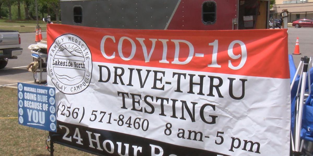 Lakeside North Family Practice hosts drive-thru test site for COVID-19