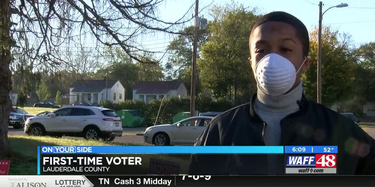 First-time voter hits the polls in the Shoals
