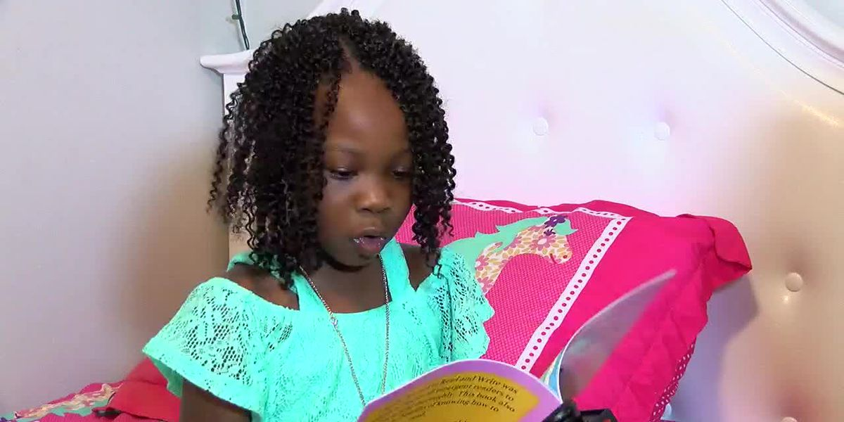 6-year-old Ala. girl is a published author