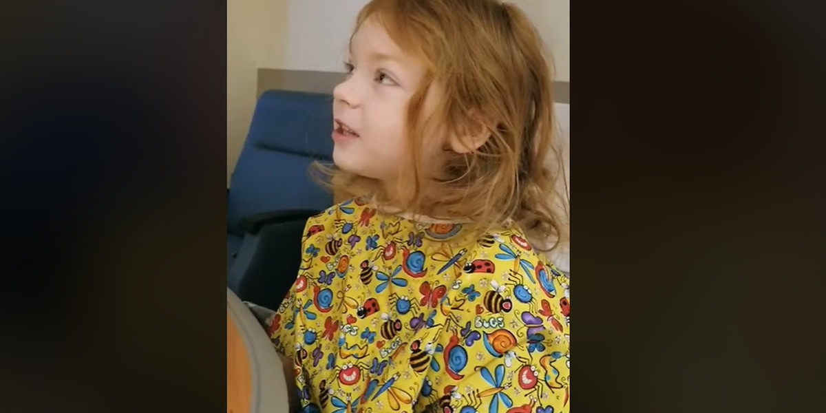 WATCH: 4-year-old Evelyn 'Vadie' Sides tells story of being missing for 2 days in Lee Co. woods
