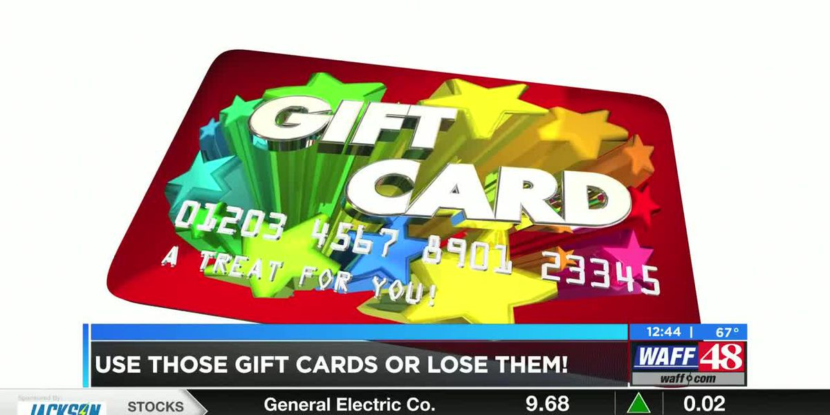 Financial Friday: Use those gift cards or lose them