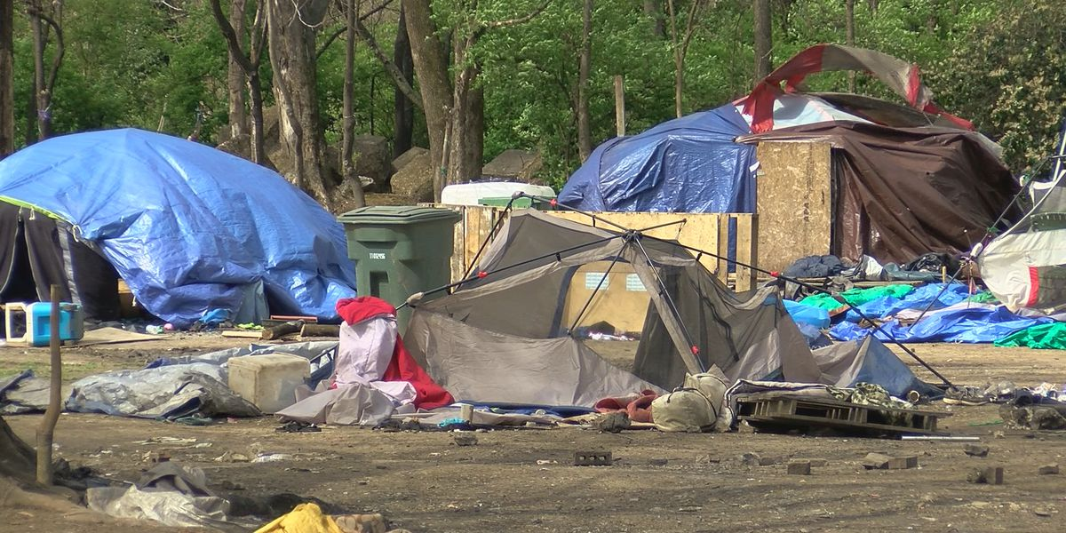 Sex offenders at a popular Huntsville homeless camp find it difficult to relocate