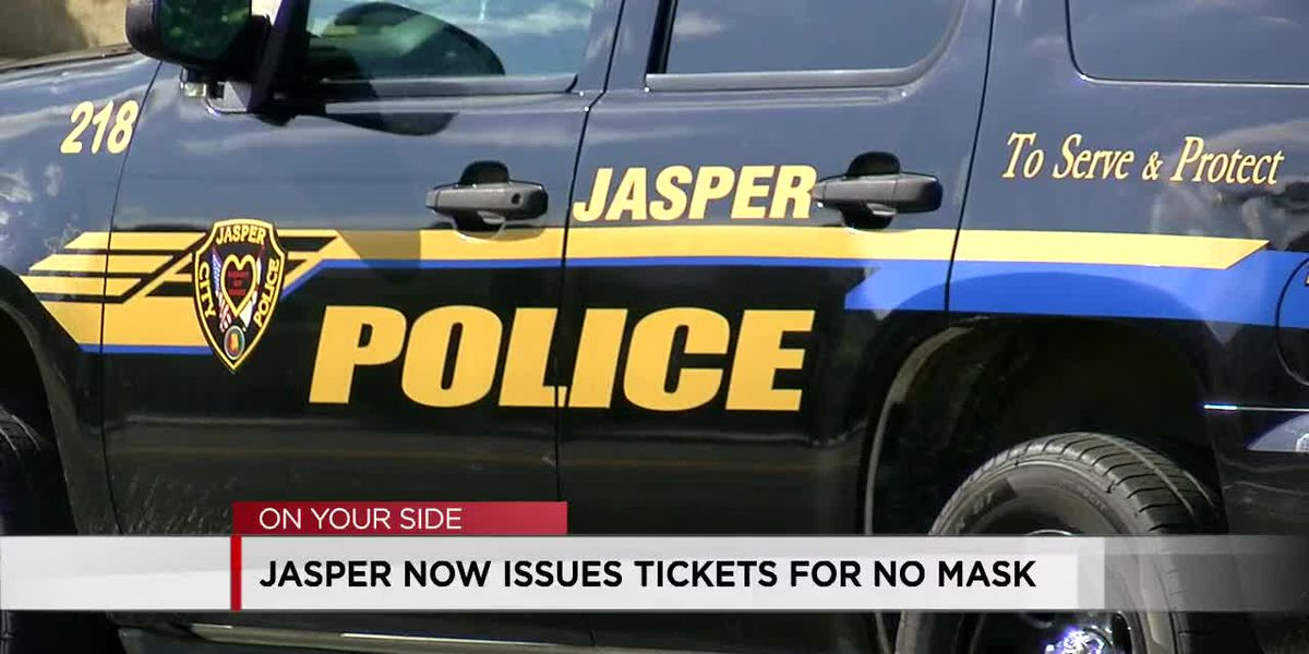 City of Jasper now issuing tickets to people who refuse to wear a mask