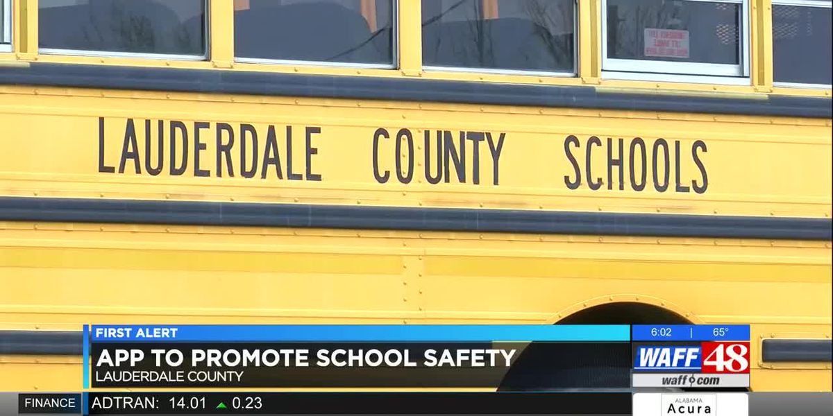 App to promote school safety in Lauderdale Co.