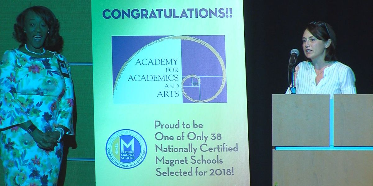 Academy for Academics and Arts named nationally certified magnet school