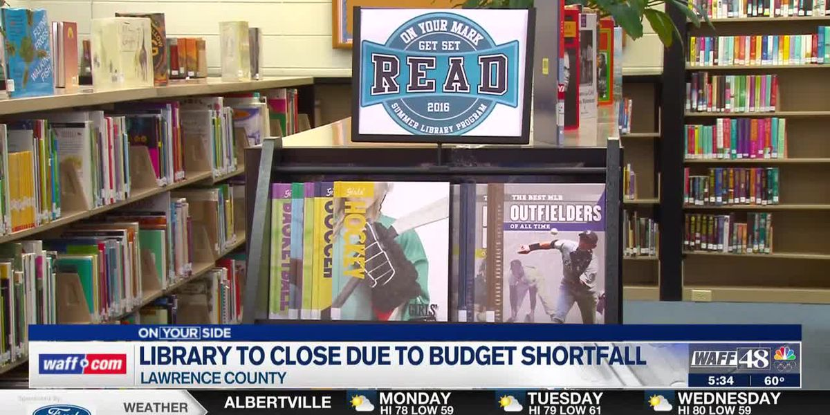 Lawrence County Library to temporarily close due to budget shortfall
