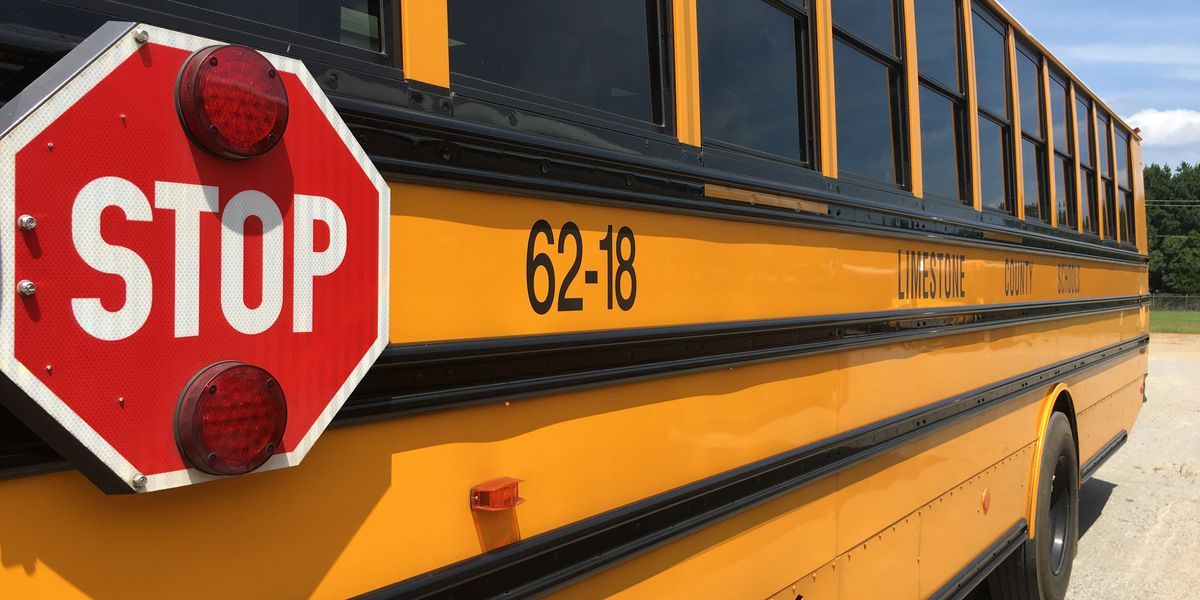 60 percent of Limestone County school buses without air conditioning