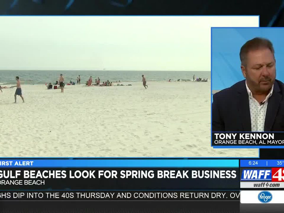 Orange Beach Mayor: Gulf Beaches look for Spring Break business