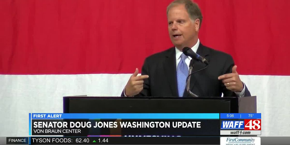 Sen. Jones gives Huntsville updates from Washington