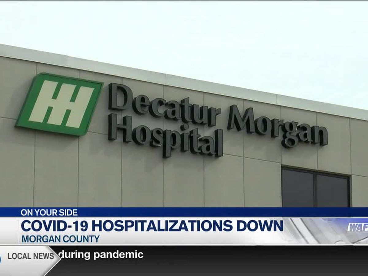 Decatur-Morgan Hospital down to lowest COVID-19 inpatient number in months