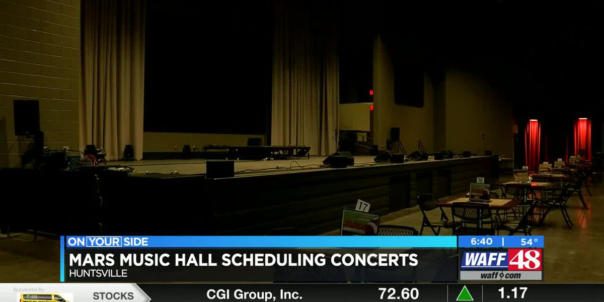 Mars Music Hall is now scheduling concerts