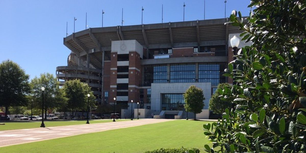 Bryant-Denny Stadium will be half capacity for Alabama's A-Day game