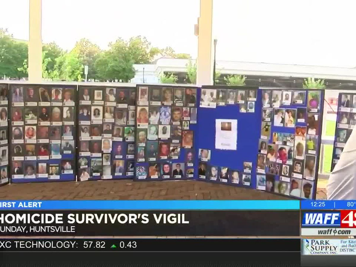 TN Valley families honor homicide survivors with vigil at Big Spring Park