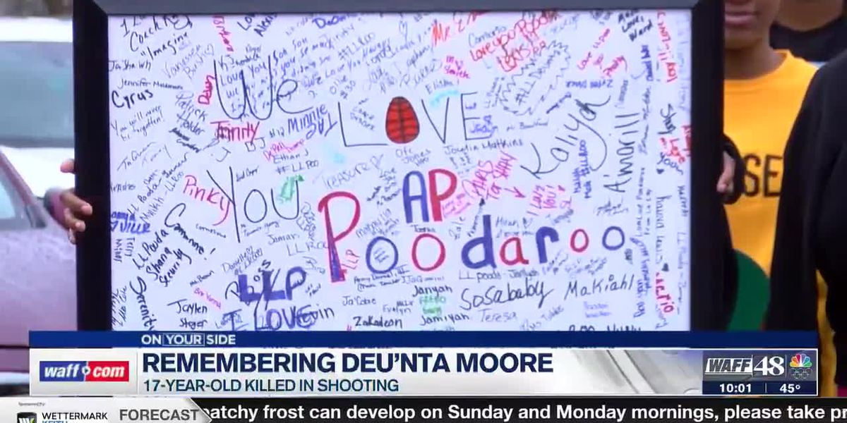 Remembering Deu'nta Moore: Family holds vigil for 17-year-old killed in shooting
