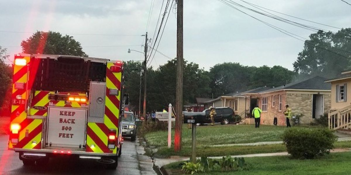 No injuries reported in Huntsville house fire