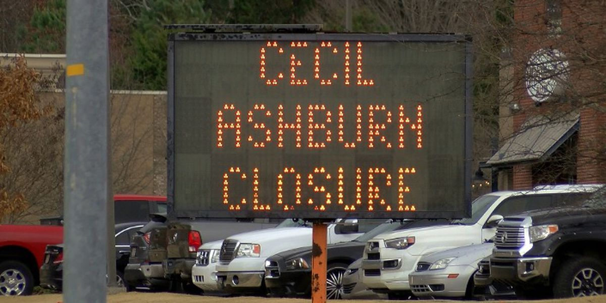 Everything you need to know about the closure of Cecil Ashburn Drive