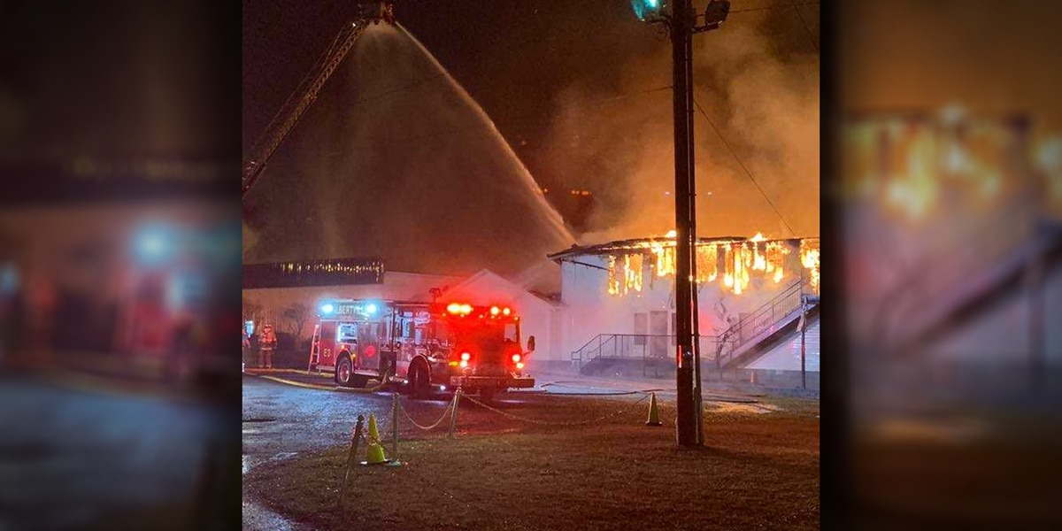 Donations being accepted following fire at Lifepoint Church