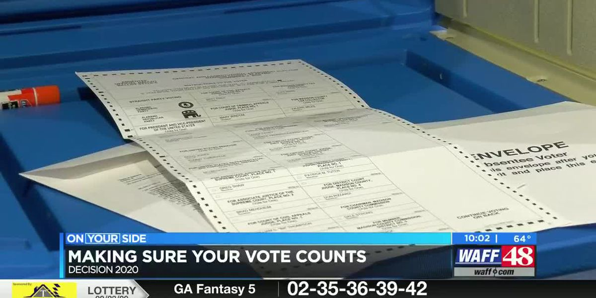 Making sure your vote counts this year, absentee or in-person