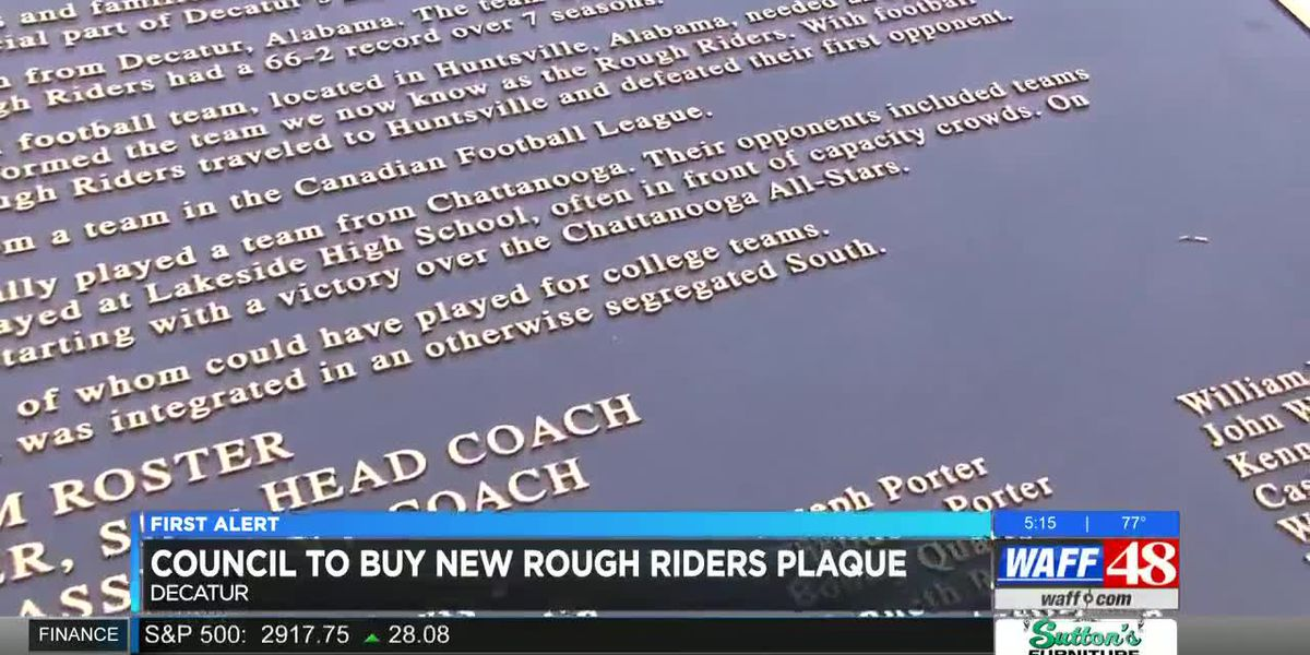 City Council to buy new plaque honoring Decatur football team