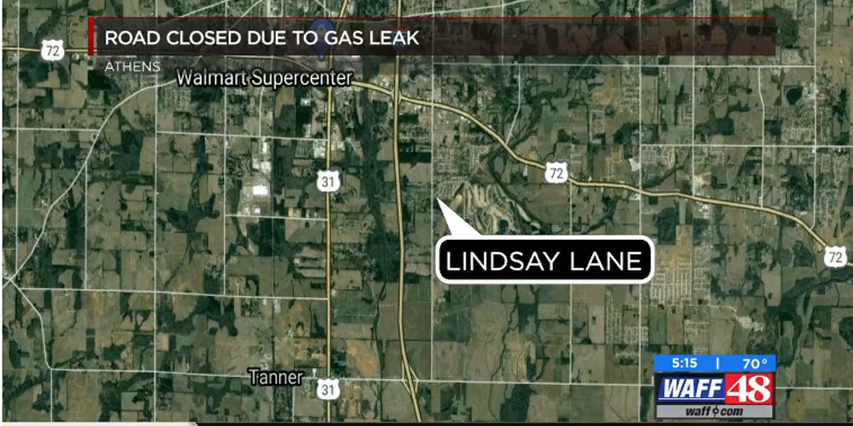 UPDATE: Roads back open after gas leak at Lindsay Lane in Athens