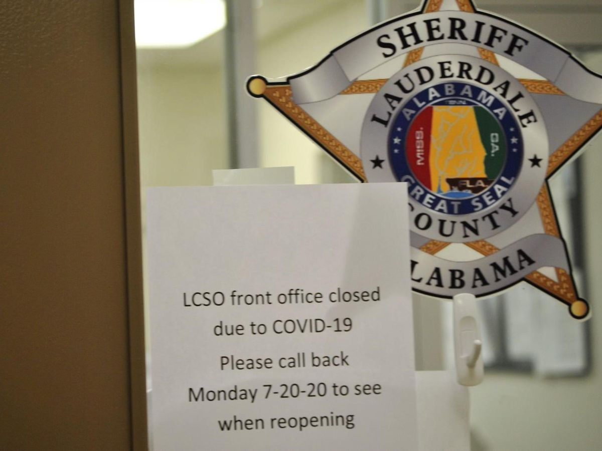 Lauderdale Sheriff's Office closed as employees await COVID-19 test results