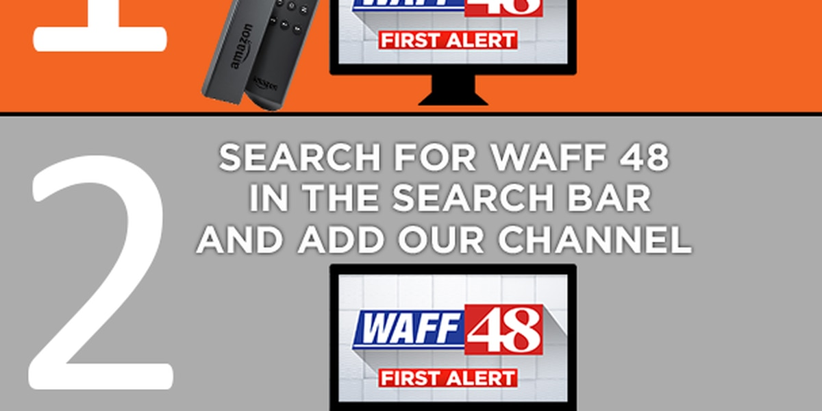 WATCH WAFF 48 on Amazon Fire