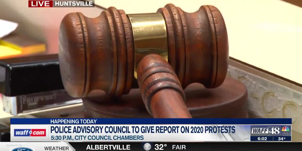 Huntsville City Council to receive in-depth report on June 2020 protests