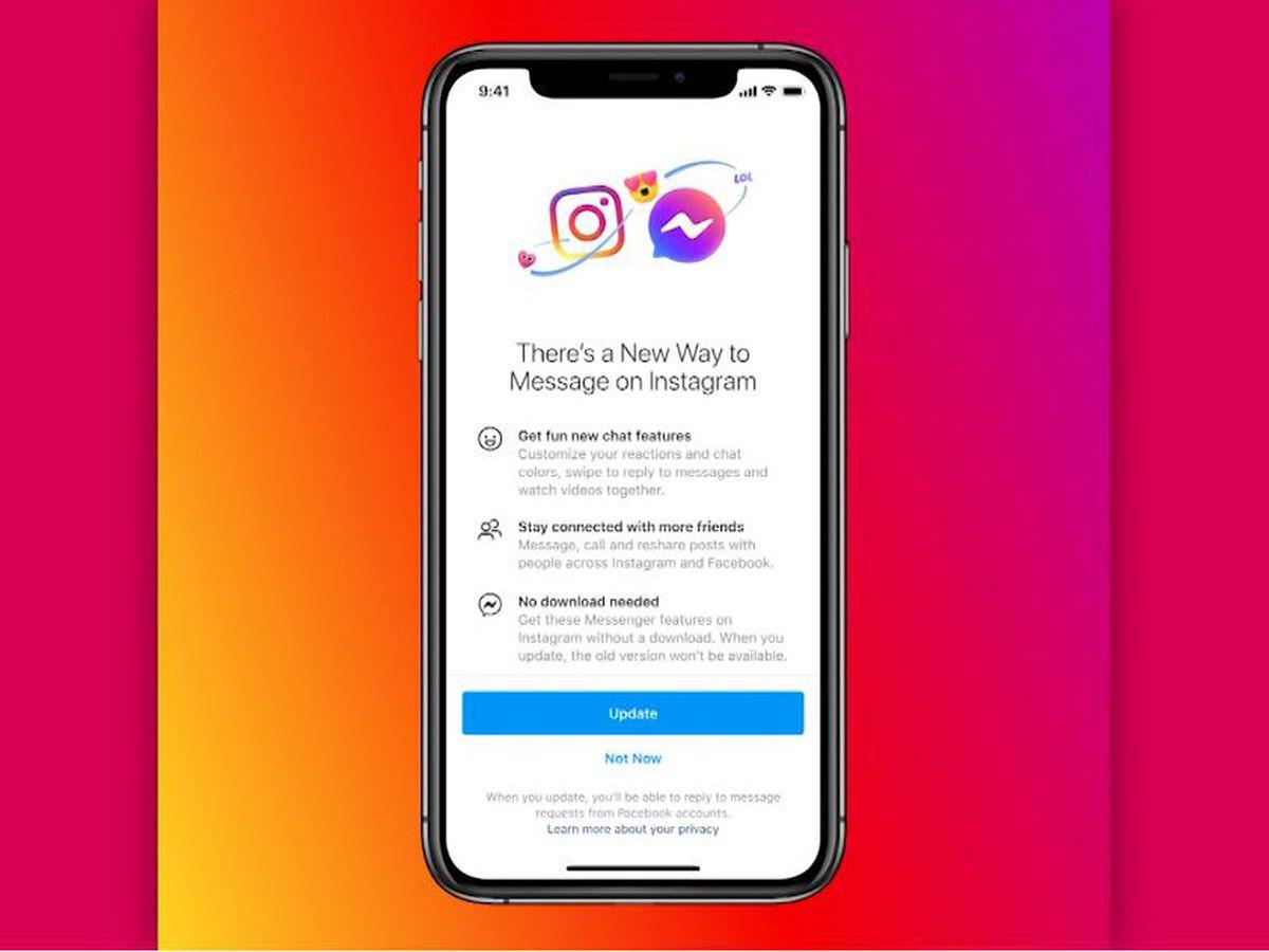 Facebook begins to merge DMs for Instagram, Messenger