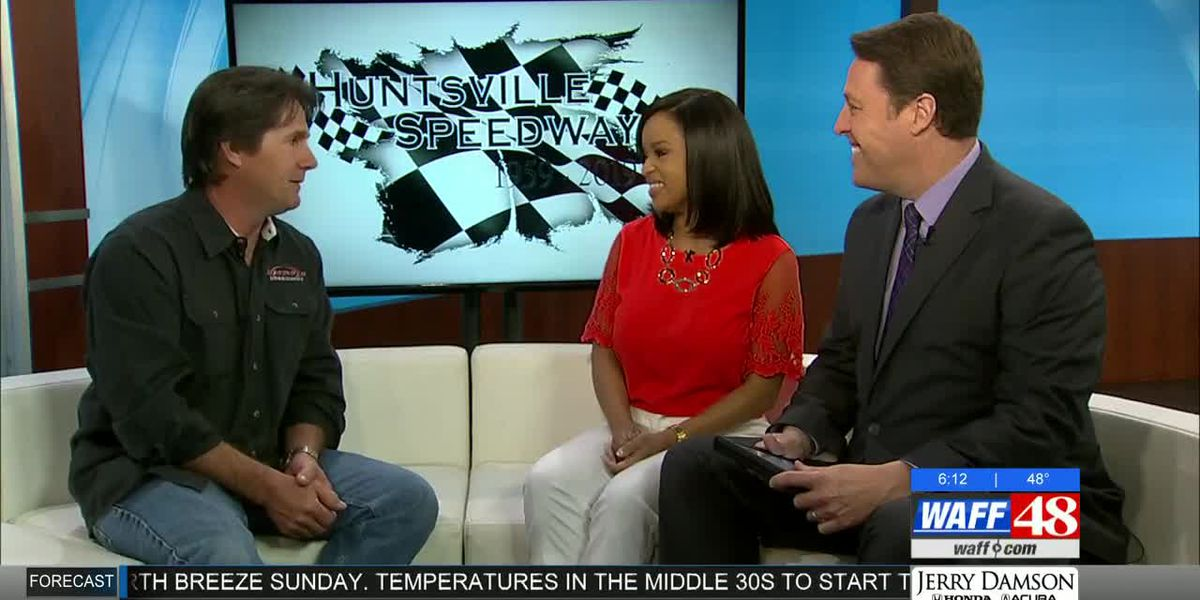 Robbie Edger from the Huntsville Speedway visits WAFF!