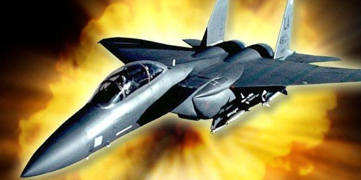 U.S. Bombs ISIS in Syria