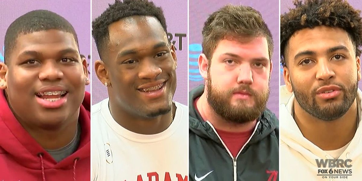 Alabama players talk preparing for Clemson in CFP title game