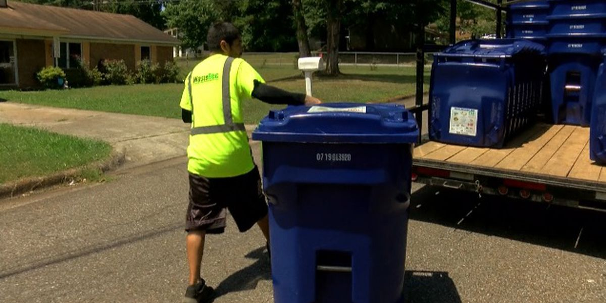 New recycling carts being delivered across Madison County