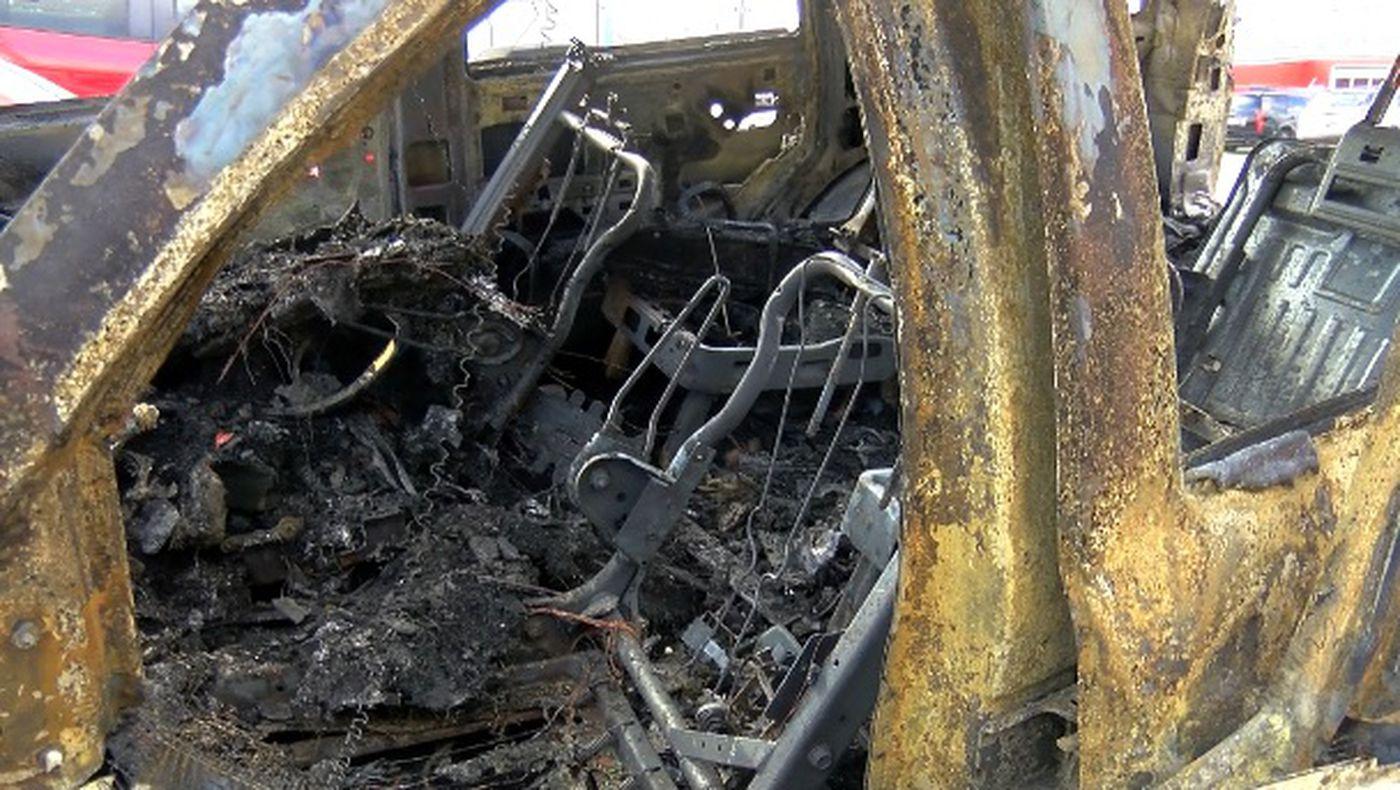 Dash cam footage captures highway fireball in TN school bus crash