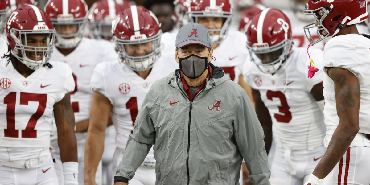 'I'm gonna give my blood plasma': Coach Nick Saban said he'll donate as soon as he's able