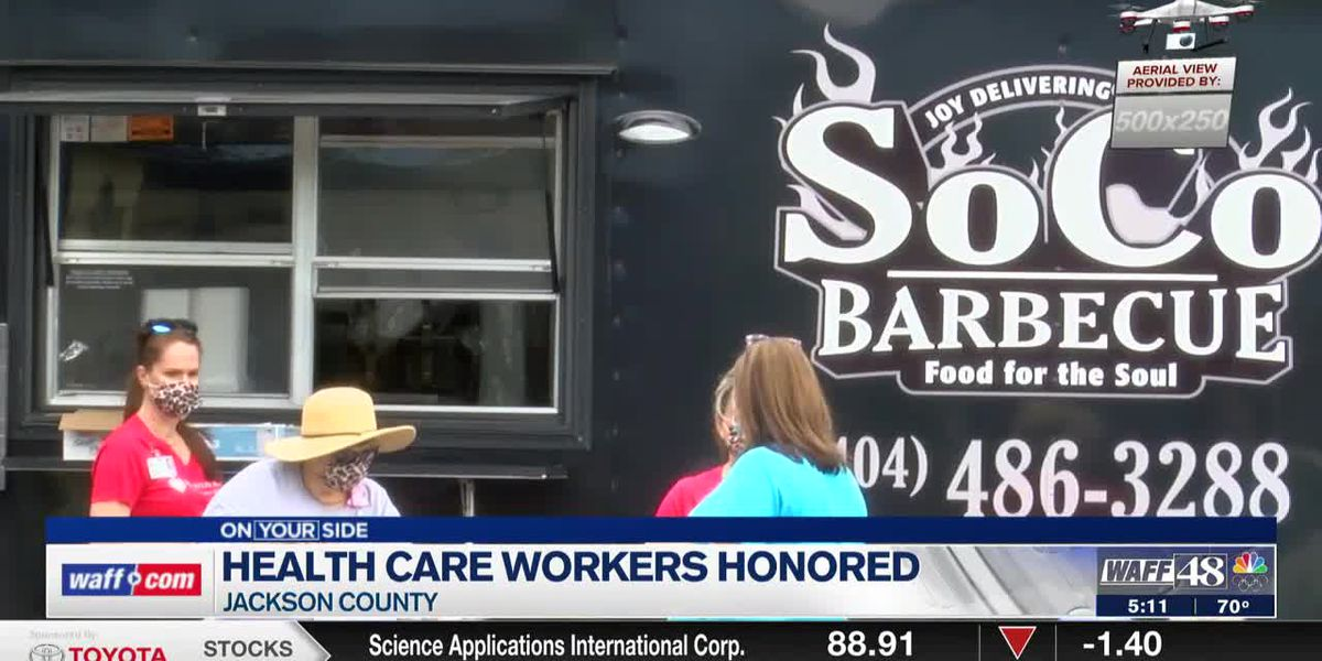 Healthcare workers honored ion Jackson County