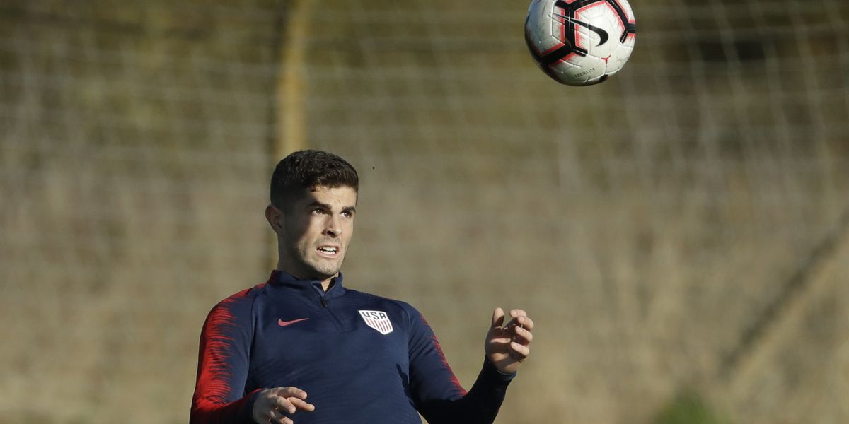 Pulisic assumes leadership role on return to American team