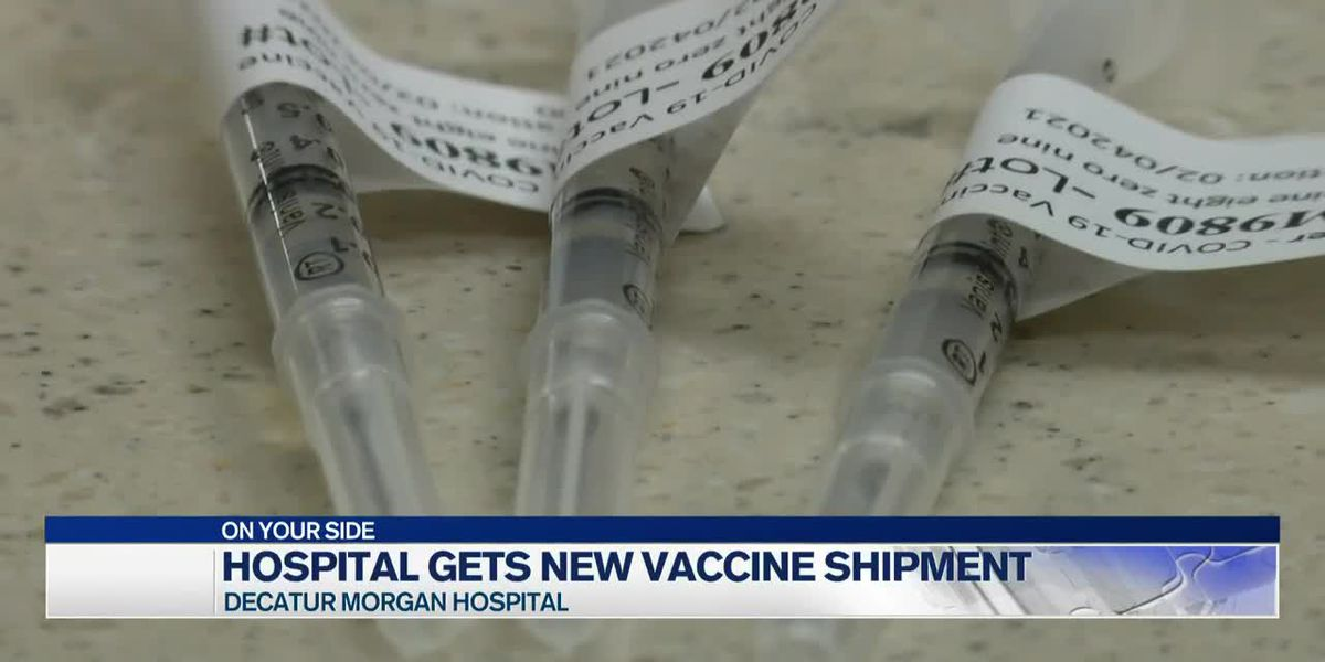 Decatur-Morgan Hospital receives nearly 3,000 doses of the Pfizer vaccine
