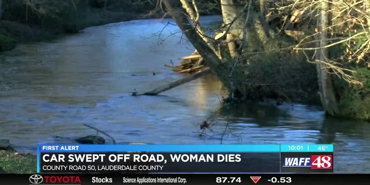 Woman killed in Lauderdale County floodwaters