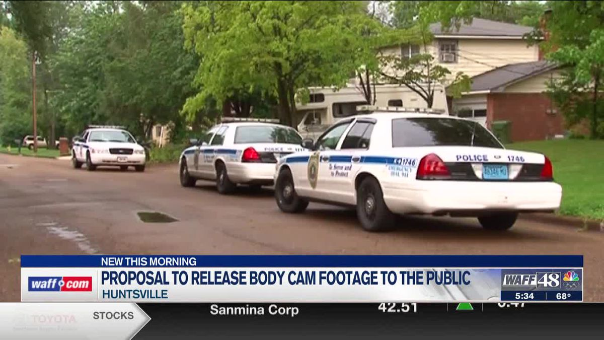 Two Huntsville City Council members working to release body cam footage to public