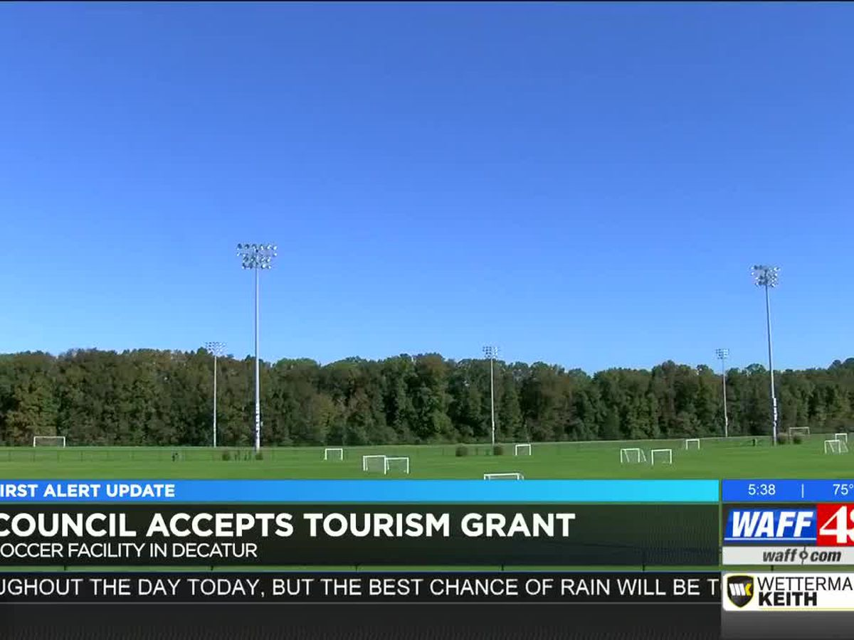 Council accepts tourism grant for new soccer facility in Decatur