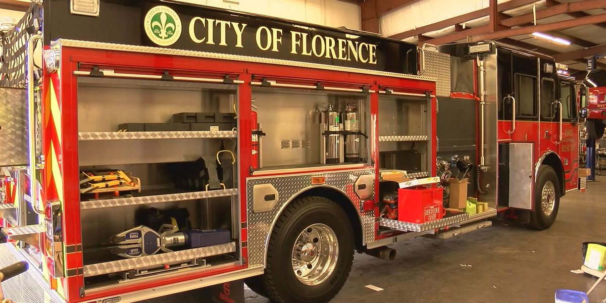 Florence gets first new fire engine in 8 years